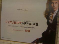 Covert Affairs - June 2011 - NYC