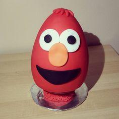 Elmo egg!