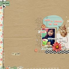 Layout by Lauren. Supplies: Love You More Than Ice Cream by Jenn Barrette; transformers v14 (template) by Lauren Reid.