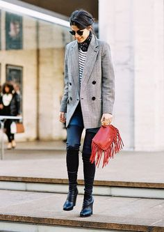 8 Thigh-High Boot Outfits: From Sassy to Seriously Chic via @WhoWhatWearUK