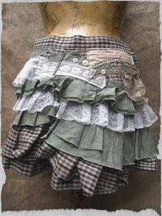 NaturallyBohemian: Tweed Ruffles