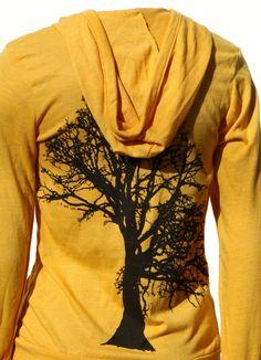 Oak Tree art by MATLEY. Soft Lightweight full zip Men's Women's Unisex  Hoodie. In 3 colors by MatleyInk on Etsy https://www.etsy.com/listing/113197595/oak-tree-art-by-matley-soft-lightweight