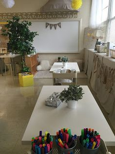 Flexible seating in the classroom.