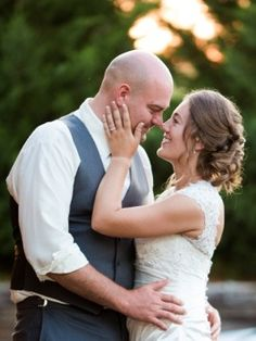Newlyweds: Photo by Irina & Dustin Photography via Heather Renee Celebrations