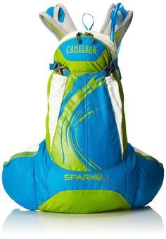 Camelbak Products Women's Spark 10 LR Hydration Pack, Blue Jewel/Chartreuse, - This was exactly what i needed at a reasonable price.This CamelBak that Dubai, Camping And Hiking, Camping Tips, Outdoor Backpacks, Hydration Pack, Day Hike, Change Purse, Hiking Backpack, Jewel