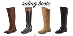 Fall's Best Riding Boots, All Under $100