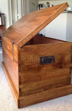 Oak and Cedar Chest