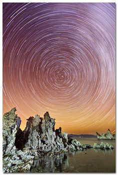 more for your exposure to finish is to take sequential images and stack them together in post process to get your star trails. In short, you...