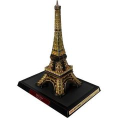 Eiffel Tower (Night), France,Architecture,Paper Craft,Europe,Vietnam,brown,Paris,tower,world heritage,building