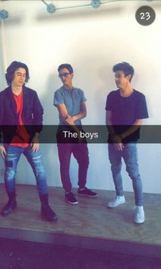 The Boys The outfield