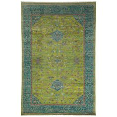Fine Oushak, Hand-Knotted Oriental Rug, Darya Rugs