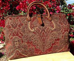 Weekender Overnight Carpet Travel Bag. by LondonJacks on Etsy