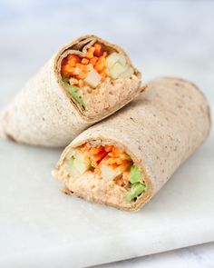 Get your spicy tuna fix in minutes with spicy tuna wraps! This recipe has all the flavors of a spicy tuna roll with less fuss & sustainable ingredients!