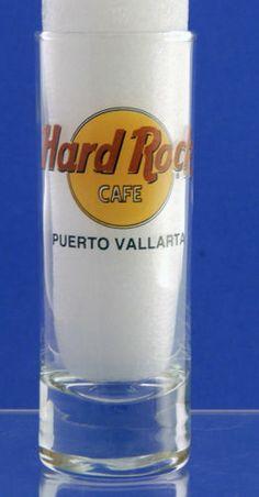"""Hard Rock Cafe' Puerto Vallarta 4"""" Tall Shot Glass Closed Restaurant   eBay Puerto Vallarta Resorts, Hard Rock, Shot Glass, Hotels, Restaurant, Ebay, Diner Restaurant, Restaurants, Hard Rock Music"""