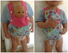 Easy To Make Baby Doll Carrier Tutorial