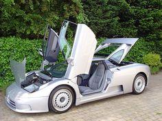 Bugatti EB110 this Is a crazy car