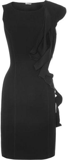 Bottega Side Ruffle Dress - I NEED THIS DRESS!