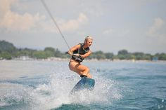 Wakeboarding am Wörthersee Wakeboarding, Bikinis, Swimwear, Water Sports, Summer, Bathing Suits, Swimsuits, Bikini, Bikini Tops