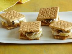Grilled Banana S'Mores #GrillingCentral