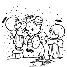 Christmas coloring pages on Pinterest