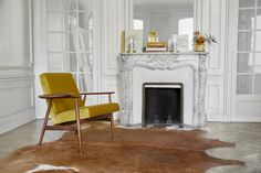 The beauty of design – the Fox Armchair, designed in the 1960s. Definitely one of the most comfortable and exclusive chairs. Love at first touch. Take it home and relish its timeless comfort.  #366concept #polishdesign #vintagedesign #retrofurniture #vintagefurniture #archdigest #luxuryinteriors #midcentury #artdeco Parisian Apartment, Paris Apartments, Retro Furniture, Parisian Style, Foot Rest, Luxury Interior, How To Fall Asleep, Vintage Designs, Armchair