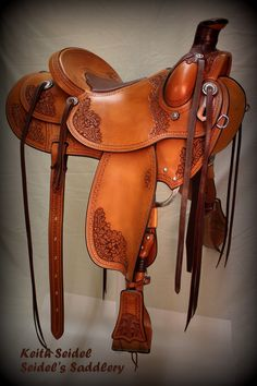"Really nice ""Using"" saddle"" made by Seidel's Saddlery.  Visit our website at www.seidelsaddlery.com."