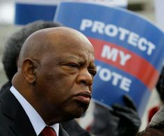 "Rep. John Lewis had his skull bashed in as he fought in Selma in 1965 for the right to vote. And Scalia thinks protecting that right is just a ""racial entitlement""?  The mind boggles."