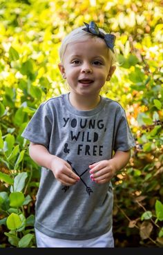 """Young, Wild & Free"" Tee"