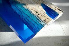 Lagoon Tables by Alexandre Chapelin 2