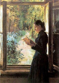 Portrait of Natalia Petrunkevich, 1892  Nikolai Ge