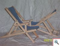 miniature folding chair tutorial  PDF for 1/1,1/12,1/6,1/4 scale