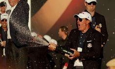 USA Ryder Cup Celebration | RyderCup.com Ryder Cup, News Media, Pilot, Celebration, Mens Sunglasses, Golf, Usa, Fashion, Moda