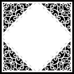 Invitation Envelope No.7 - Free Cut File | Birds Cards