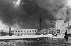Talvisodan pommituksia Tampereella