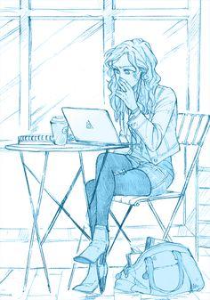 Annabeth Chase - Art by mormoc
