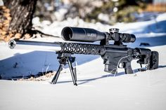 Witt Machine & Tool has integrally suppressed a Ruger Precision rifle in .308 Winchester and now it is available to the public through MachineGunTours.