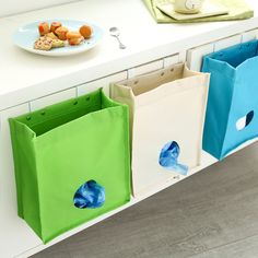 Extraction Door Back Garbage Bag Storage Pendant Creative Kitchen Extract Garbage Oxford Cloth Bags Storage Bag Cabinets  #Affiliate