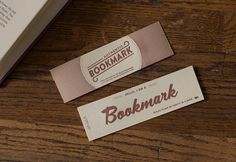 Letterpress Authentic Bookmark - Cast Iron Design Company
