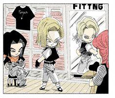 Dragon Ball Z, Krillin And 18, Majin Boo, Funny Dragon, Kawaii Chibi, Character Design Inspiration, Drawing Reference, Manga Anime, Character Art