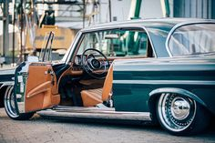 "Custom Wheels on Instagram: ""3tlg. Steelwheels for w111 🔥 ******************************************** 🛠@tt_polish Wheels®️ 🚗@_datom_ 🤝🔥…"" Mercedes Benz 220, Old Mercedes, Classic Mercedes, Custom Wheels, Custom Cars, Automobile, Slammed Cars, Sand Rail, Audi S5"