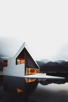 Gorgeous house, totally in tune aesthetically  with it's settings.