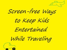 Are you starting to plan your summer vacation? Here are some great suggestions for how to keep your kids occupied and happy in the car while traveling!