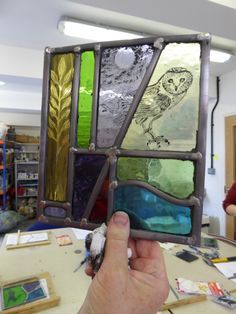 Stained Glass Paint, Stained Glass Panels, My Glass, Glass Art, Broken Glass, Mosaic Glass, Fused Glass, Glass Etching, Etched Glass