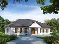 DOM.PL™ - Projekt domu MT Tercja 6 CE - DOM ST7-75 - gotowy projekt domu