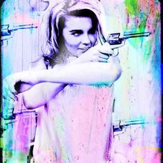 """Ann Margret  """"Hit Me With Your Best Shot."""" by trolleyla on Etsy"""