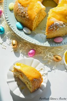 Regueifa com Doce de Ovos * Sweet loaves with Eggs