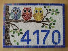 Owl Mosaic, Mosaic Tile Art, Mosaic Birds, Mosaic Pots, Mosaic Artwork, Mosaic Flowers, Mosaic Crafts, Mosaic Projects, Mosaic Glass
