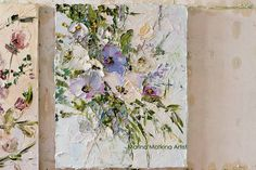 Items similar to Purple Lilac Painting Flowers Custom Order Original Oil Painting on Canvas Palette Knife Impasto Floral Landscape Bouquet Impressionism Art on Etsy Lilac Painting, Dream Painting, Acrylic Painting Flowers, Canvas Painting Landscape, Plant Painting, Circle Canvas, Paper Artwork, Texture Painting, Flower Art
