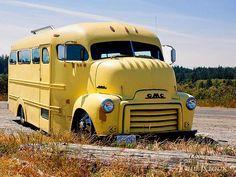 Chris V's Custom built 1953 cab over motorhome bus