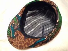African Hunting Hat inside